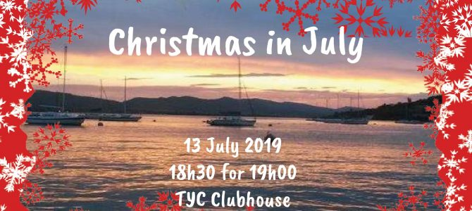 Christmas in July (13 July 2019)